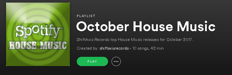 October House Spotify