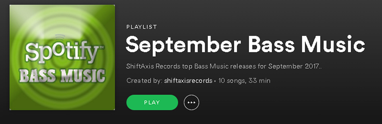 September Bass Music Spotify