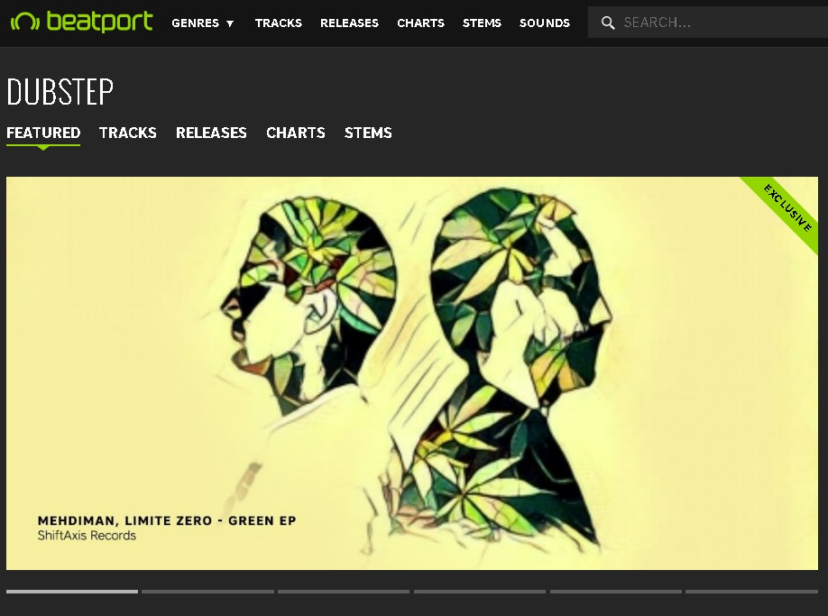 Green EP Featured On Beatport
