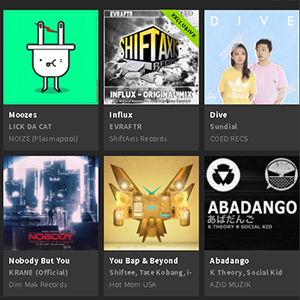 Influx Beatport Feature