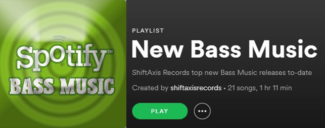 New Bass Music Spotify Playlist