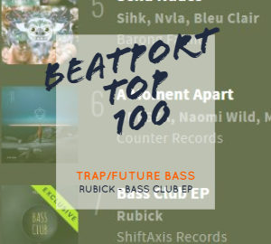 Bass Club EP Beatport Top 100