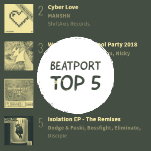Cyber Love Beatport Top 5