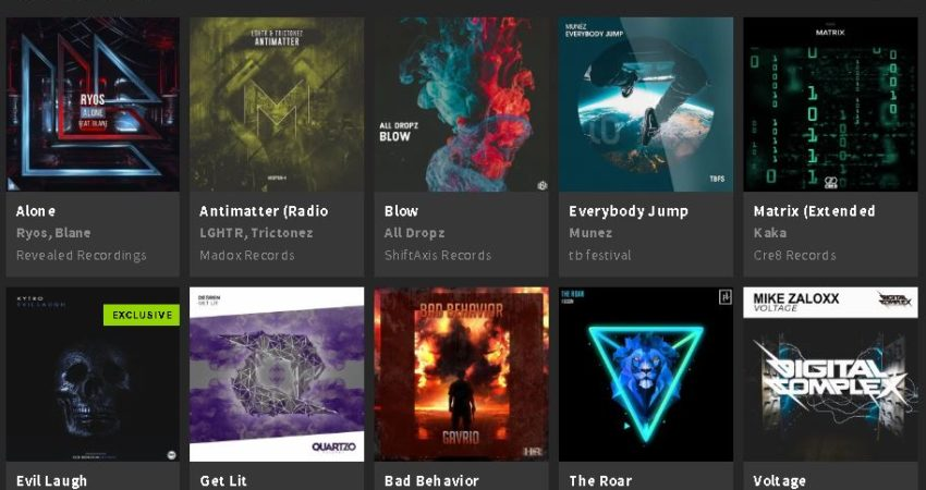 Blow Featured On Beatport