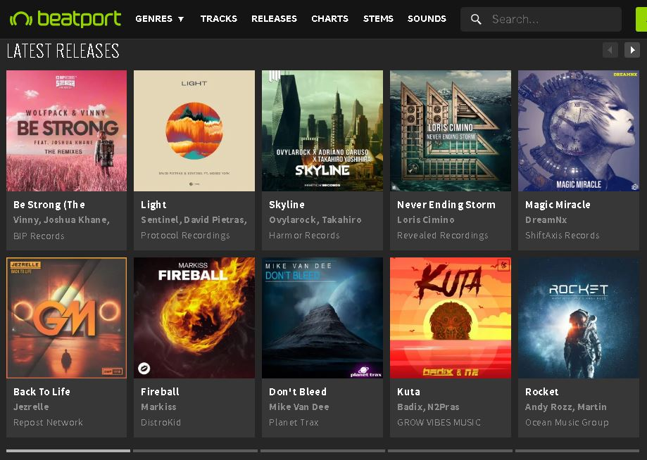 Magic Miracle Featured On Beatport